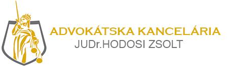 Advokátska kancelária JUDr.Hodosi Zsolt